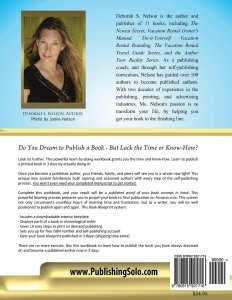 Publish Your Book Blueprint in 3 Days Back Cover