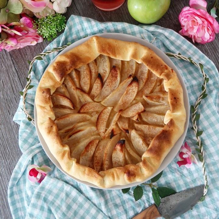Tarte aux pommes Rapide
