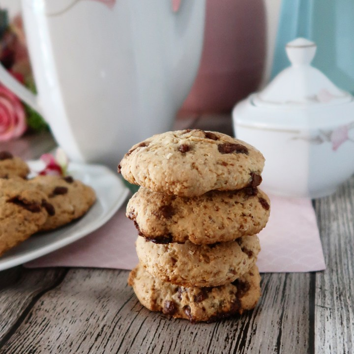 CookieS croustillantS sans oeuf sans lait