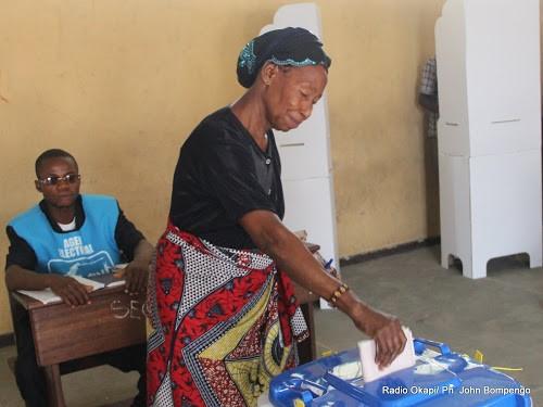 Les Congolaises appelées à participer activement aux élections