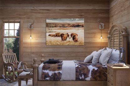 Bison Herd 10783 BR image