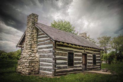 Pioneer Log Cabin 0656