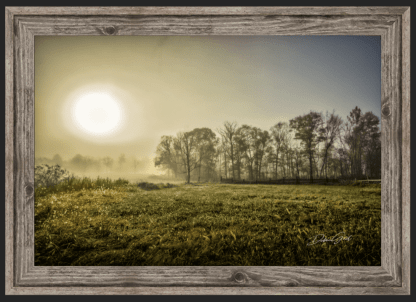 professional office wall art ethereal sunrise