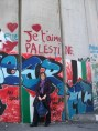 Je t'aime Palestine (at the separation wall between Israel and Palestine)