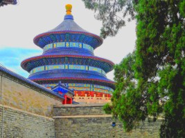 Temple of Heaven painting
