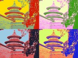 Temple of Heaven Pop Art