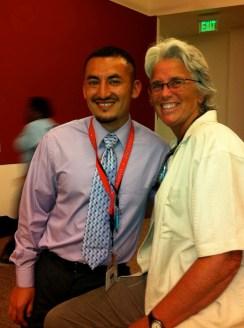 Rudy Medina and Deb