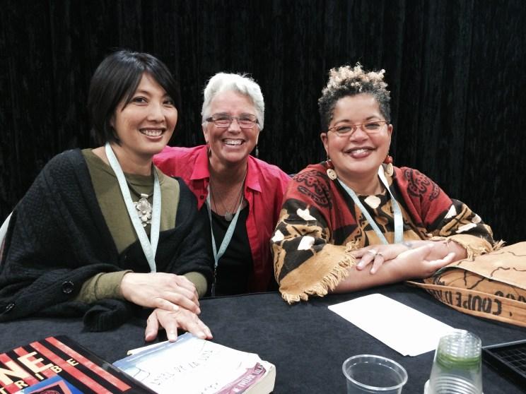 Evelina Galang, Deb Busman, Faith Adiele