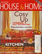 Debra Gould in House and Home Magazine