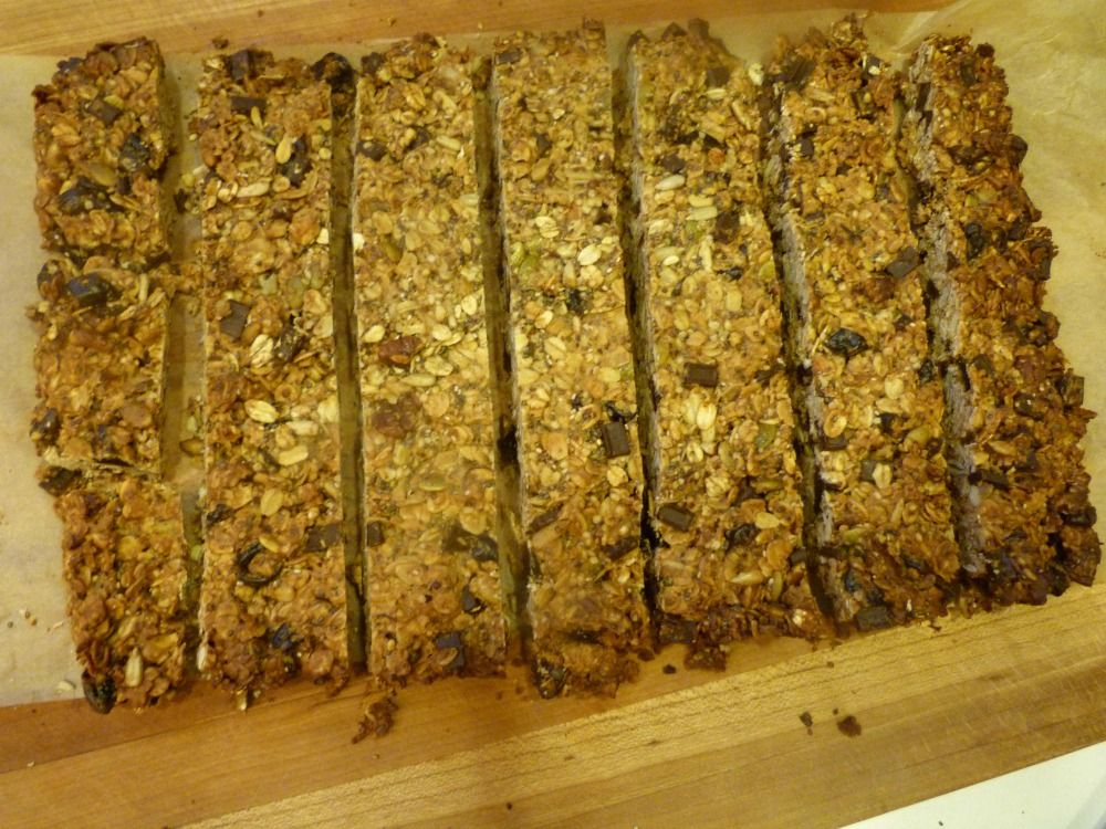 Healthy Granola Bars. Refined Sugarfree