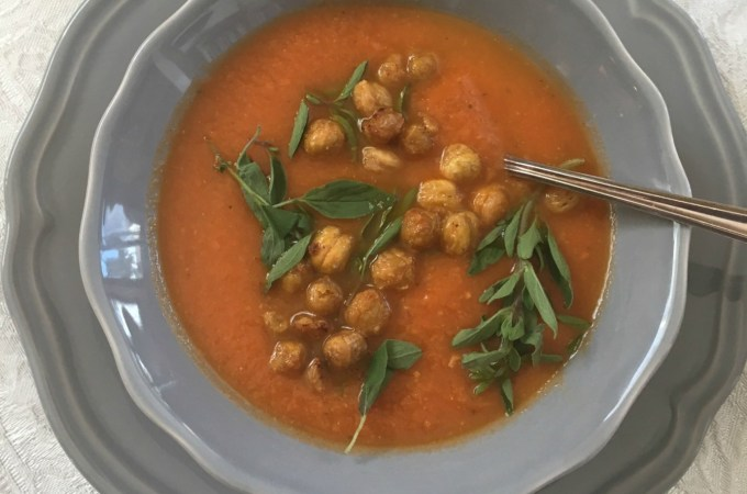 Creamy Tomato Soup-Dairyfree and Delicious