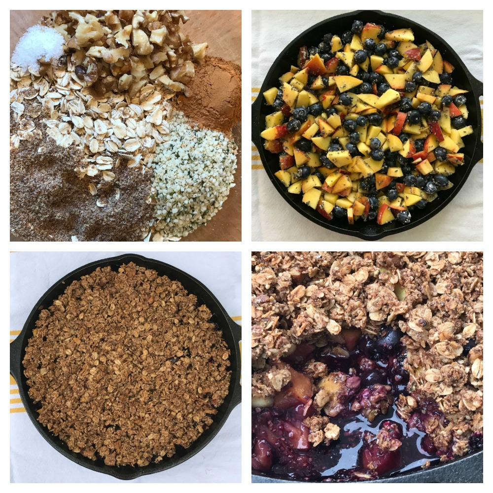 Simple and Healthy Fruit Crisp