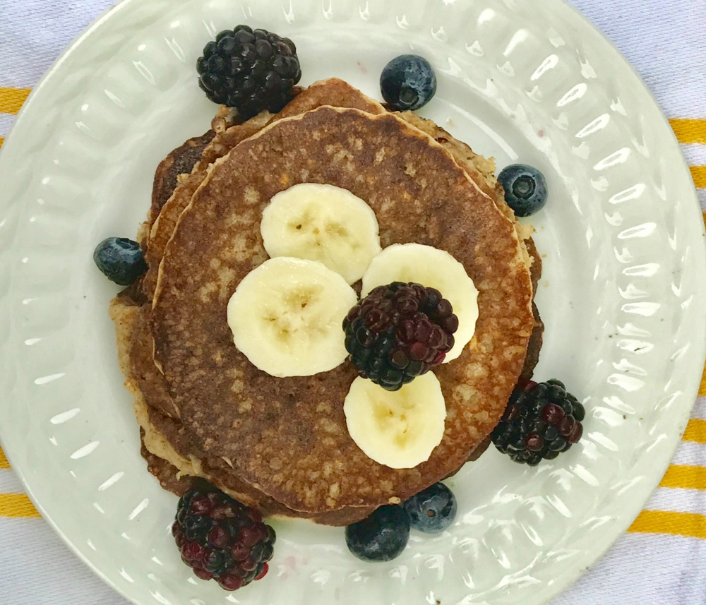 Gluten-free and vegan pancakes.