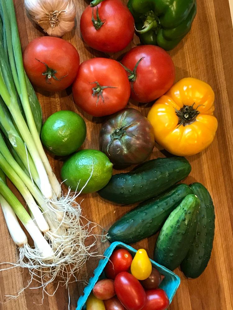 Simple Gazpacho. Glutenfree and Vegan