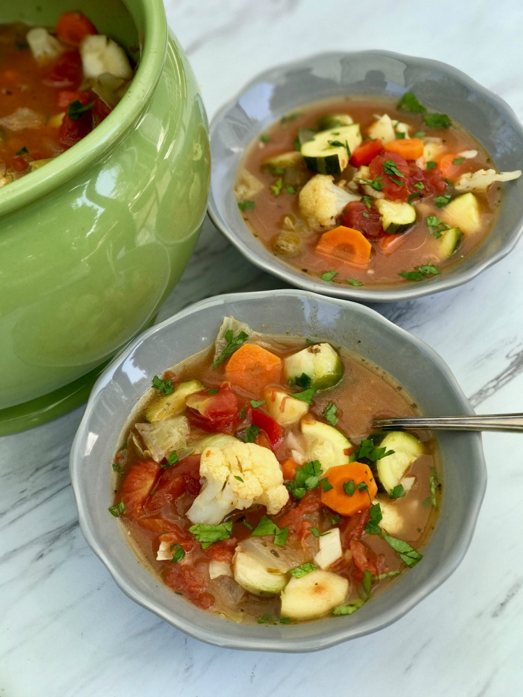 Healthy Vegetable Soup. Simple to make