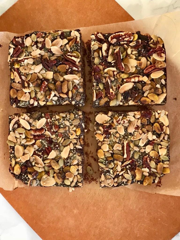 Chocolate Oatmeal Trail Bars
