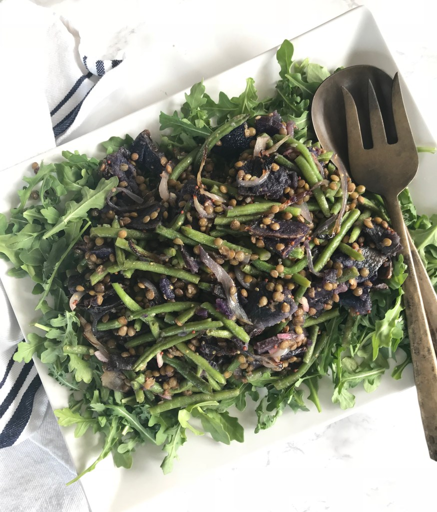 Nicoise Style Lentil Salad