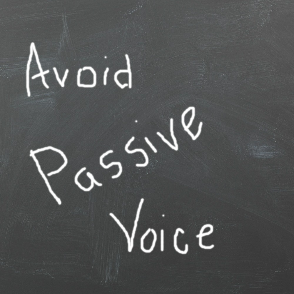how to avoid passive voice writing