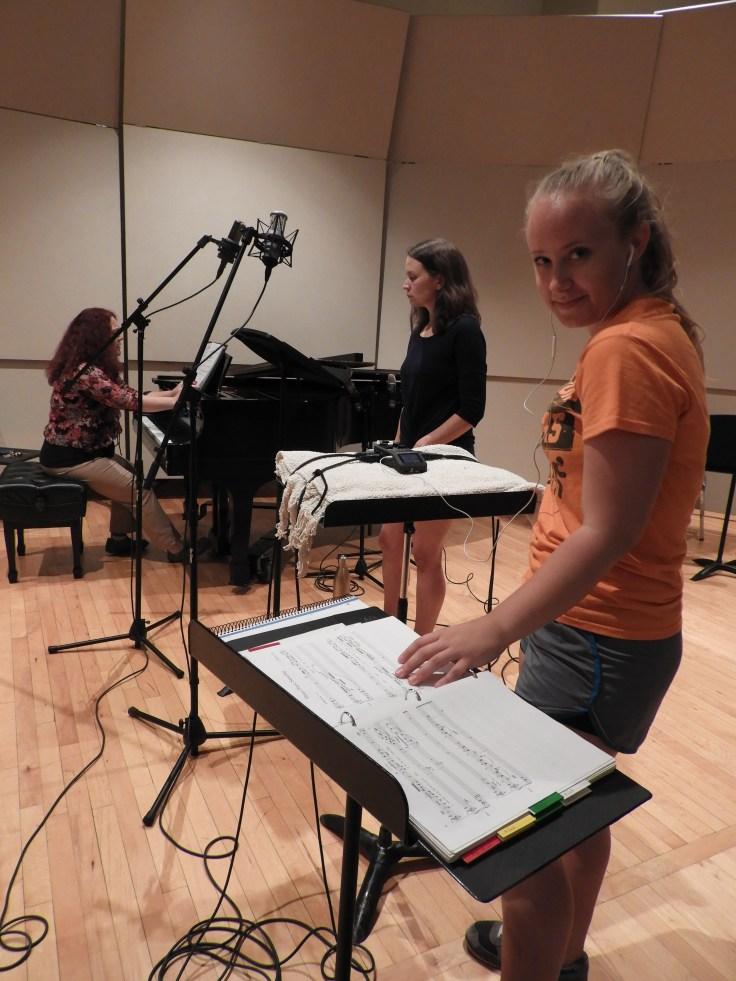 Kira recording session 005