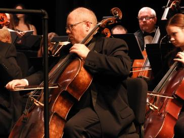 Robert Lynn, principal cellist for MSO