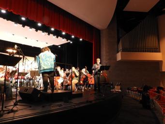 """Family Portrait"" dress rehearsal featuring Daniel Belcher, baritone soloist"