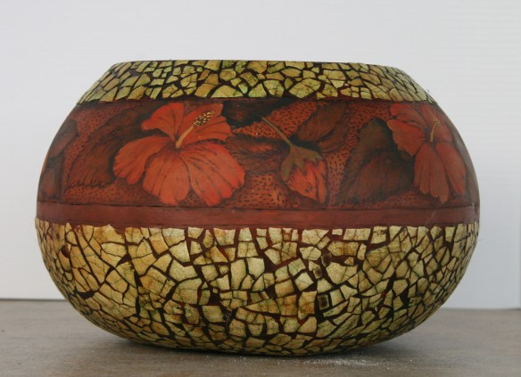 One of the gourds that will featured by Debra Maerz