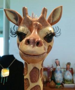 A Gourd giraffe