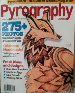 Pyrography 2016 cover
