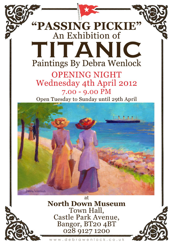 Titanic Exhibition by Debra Wenlock - North Down