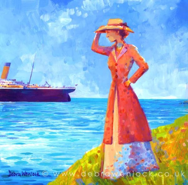 Titanic Final Funnel by Debra Wenlock
