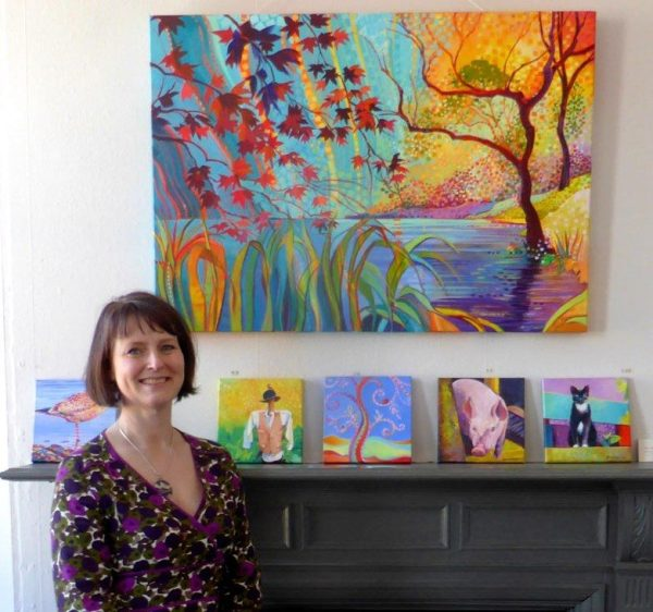 Bring me Sunshine exhibition, Magical Mount Stewart by Debra Wenlock