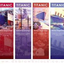 Titanic Bookmarks by Debra Wenlock