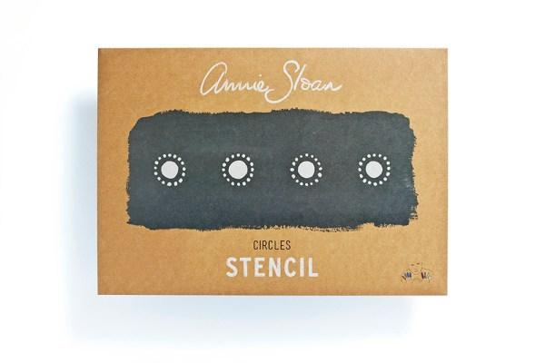 Annie Sloan stencil Circle