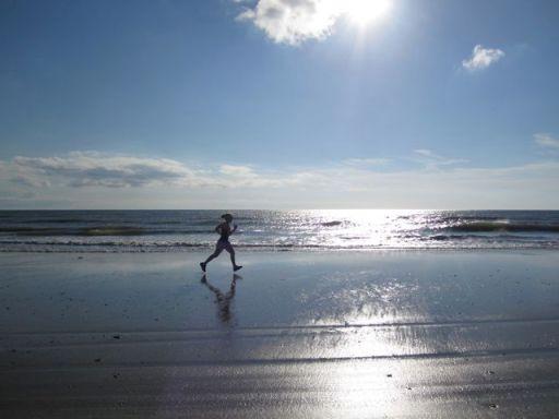 BeachDebSilouette