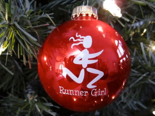 RunnerGirlOrnament