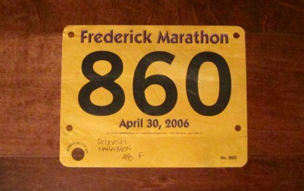 FrederickMarathonBib