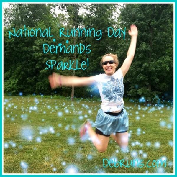 NationalRunningDaySparkleJumpPoster