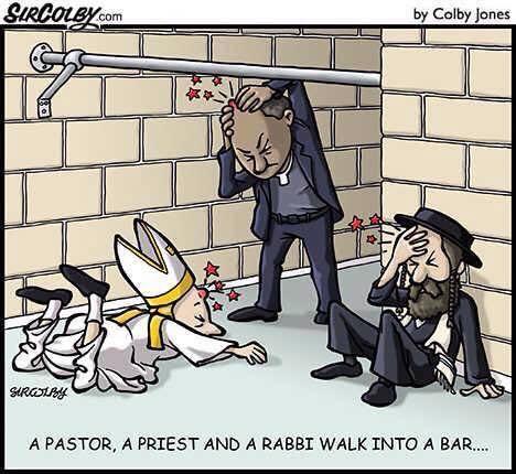 PastorPriestRabbiWalkIntoABar