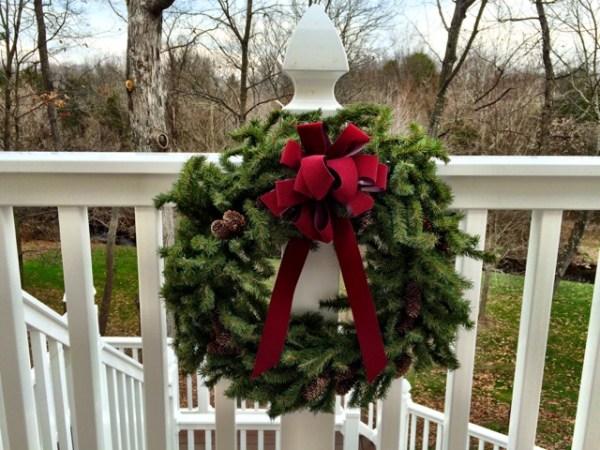 ChristmasWreathOnDeck
