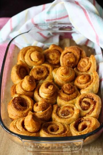 snelle cinnamon rolls