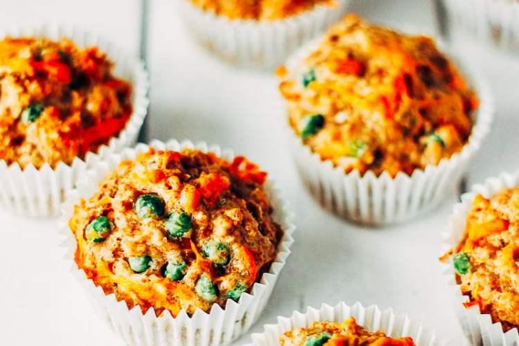 hartige muffins met cheddar
