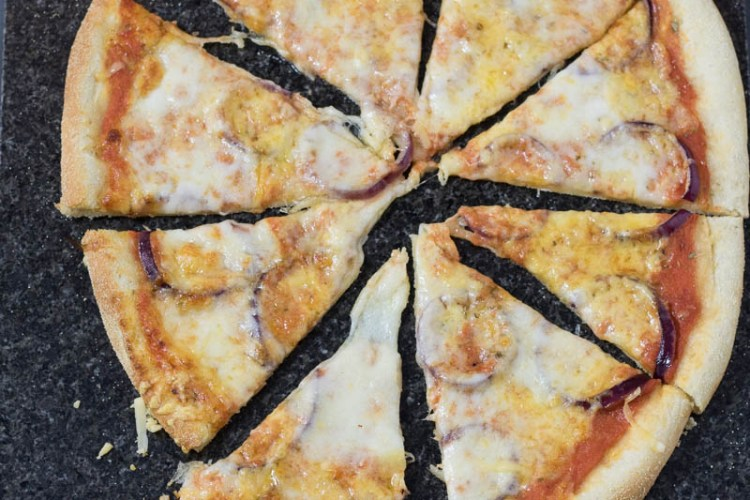 pizza cheese & onion