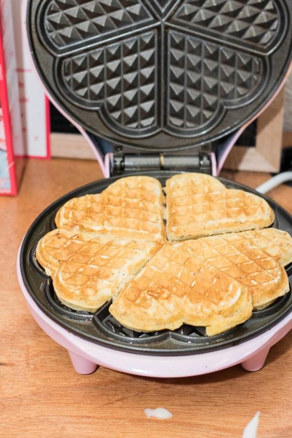 wafels bakken