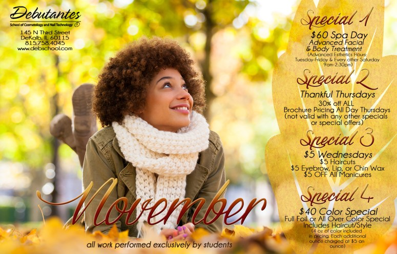 November 2015 Specials