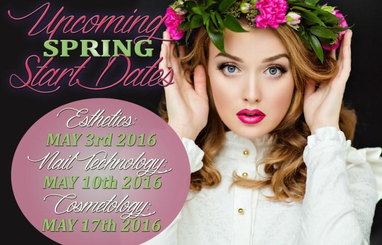 May Start Date Cosmetology 2016