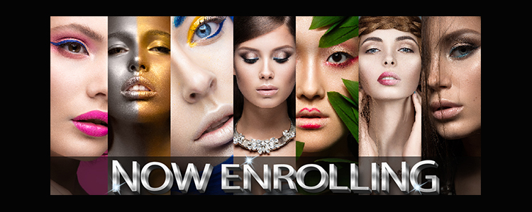 Now Enrolling for our Late Summer/Fall Start Dates in Cosmetology, Nail Technology & Esthetics