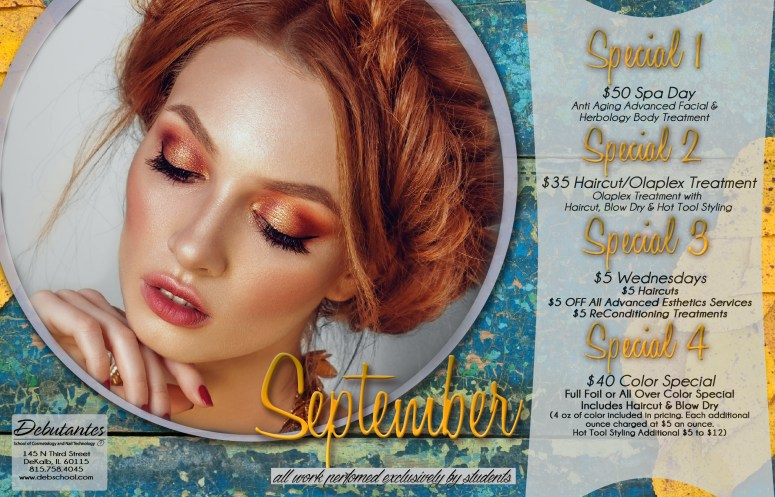 Debutantes School September 2016 Specials