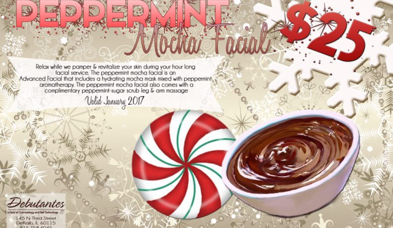 $25 Peppermint Mocha Advanced Facial