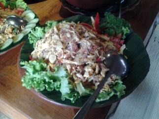 Ayam Panggang Sambal Matah (Balinese chicken salad)