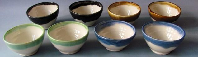 Cone six porcelain bowls